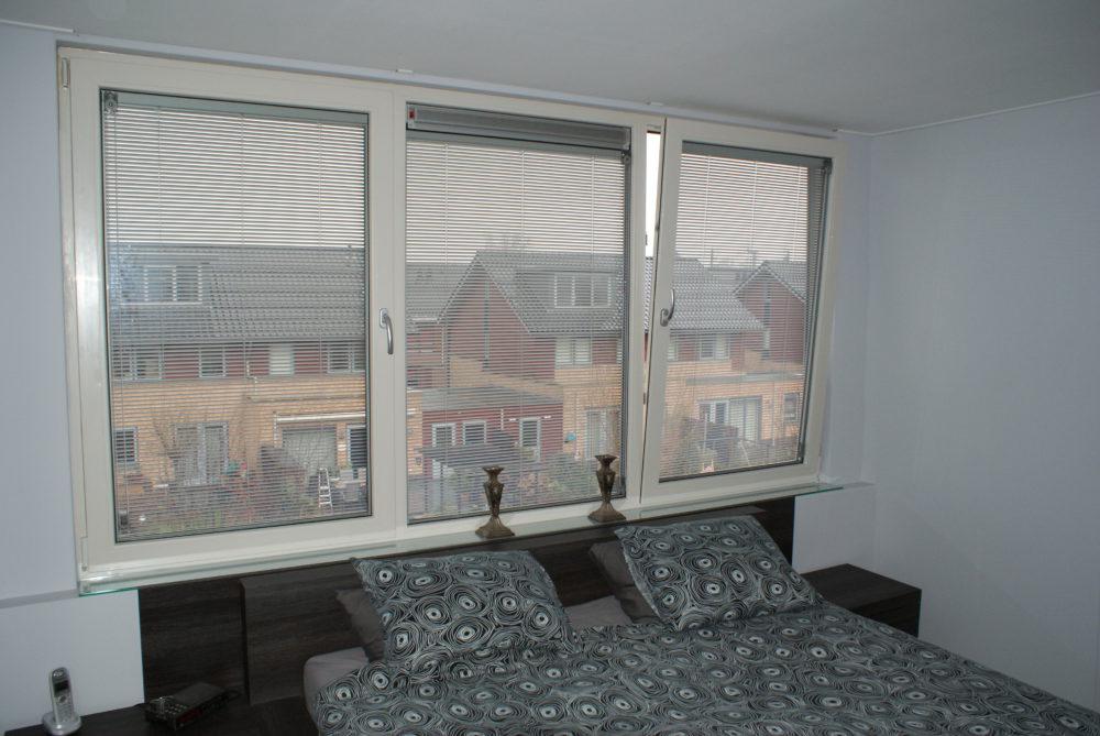 Jaloezie in glas slaapkamer | Foto: Pilkington Nederland